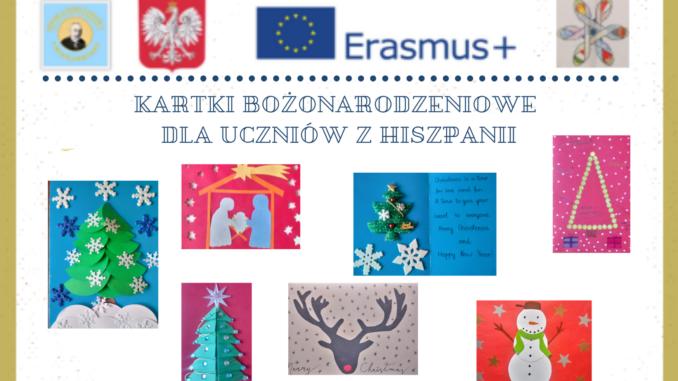 Kartki Bożonarodzeniowe dla Uczniów z Hiszpanii