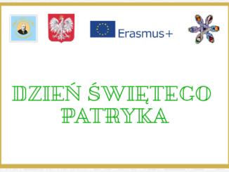 Erasmus + Dzień Świętego Patryka.