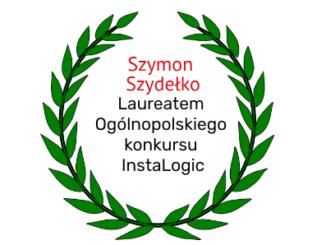 Szymon Szydełko Laureatem konkursu InstaLogic