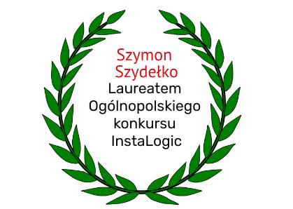 Sukces Szymona z klasy 5a