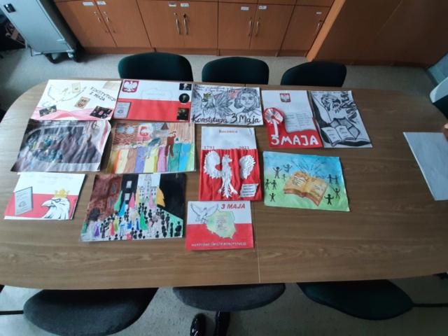 3 Maja - prace plastyczne uczniów