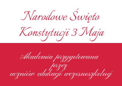 Konstytucaj 3 Maja program artystyczny