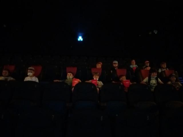 Klasa 1b w kinie