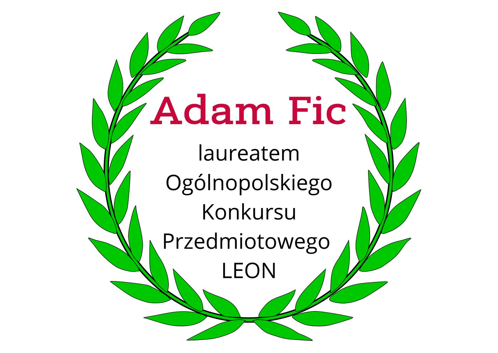 Sukces Adama Fica
