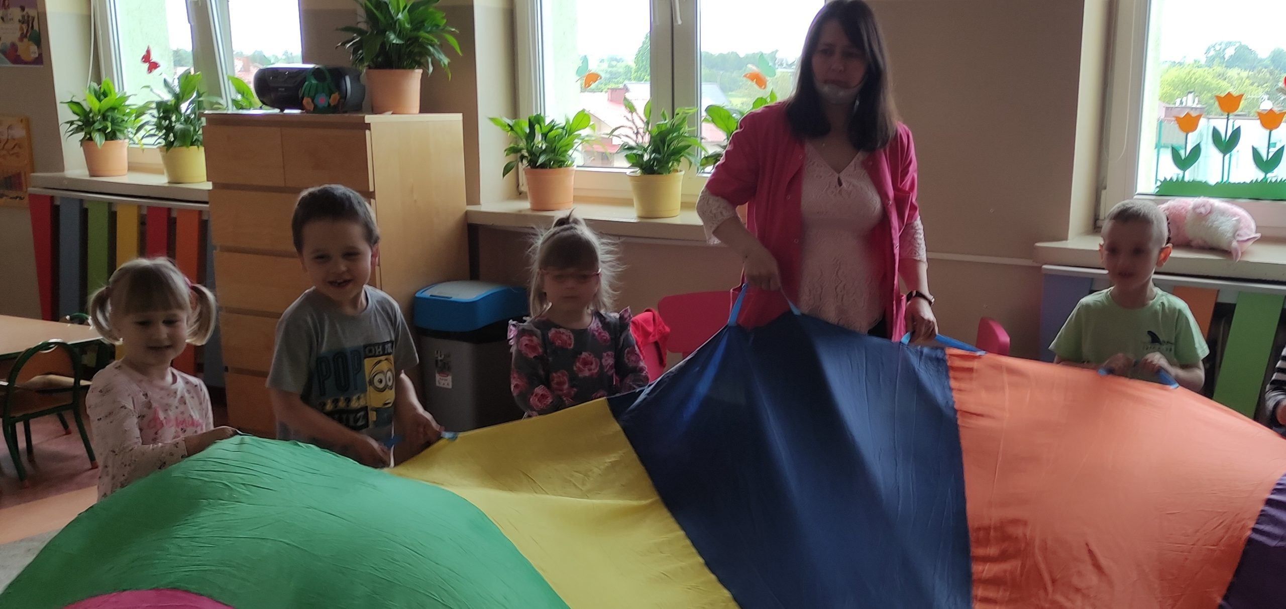 Dzień Dziecka w grupie Misie