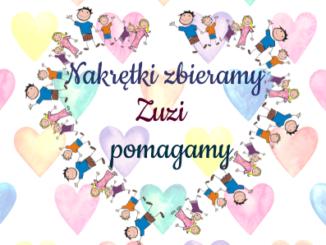 Podziękowania od Zuzi
